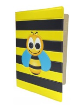 Happy Holidays Bee Passport Holder