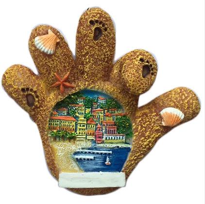 Bear Paw Seaside Magnet