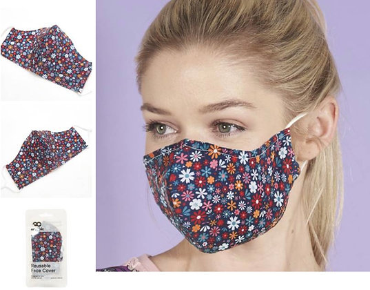 Eco Chic - Ditsy Daisy Mask