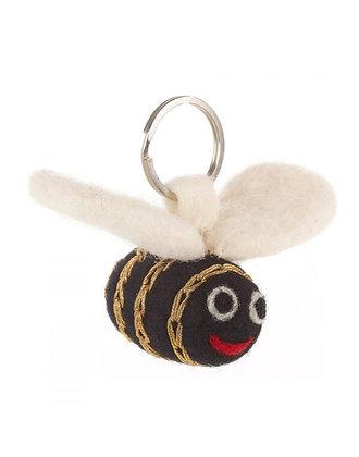 FeltSoGood - Golden Bee Keyring