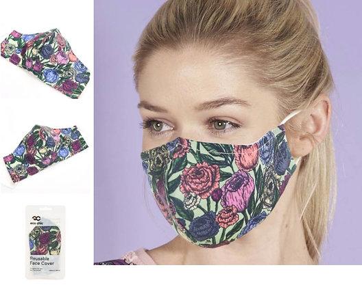 Eco Chic - Peony Face Mask