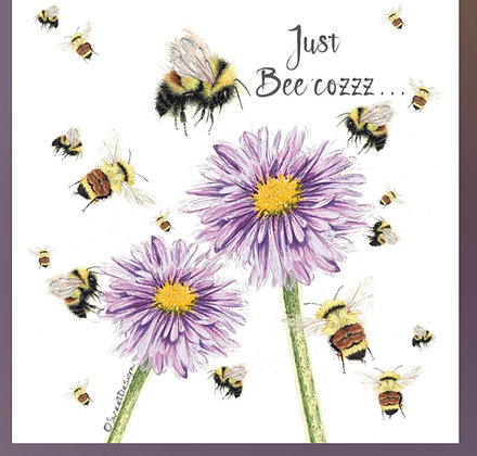 'Just Bee' Greeting Card