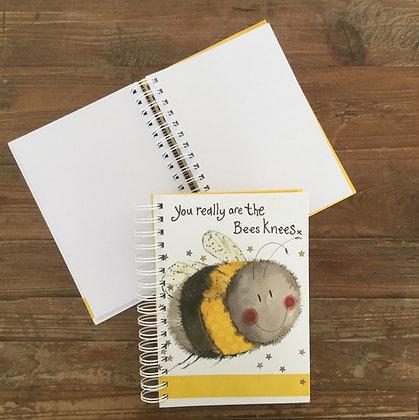 Bee Spiral Journal