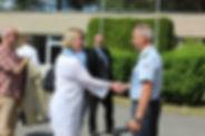 Výbor pro obranu na návštěvě 26. pluku velení, řízení a průzkumu