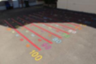 playground numerical line