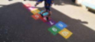 playground markings hopscotch