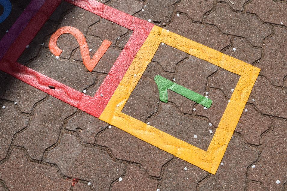 square hopscotch