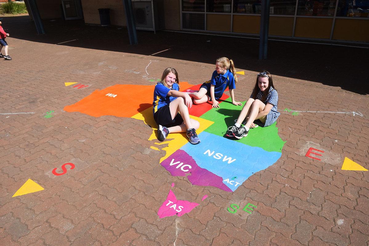 playground Map of Australia