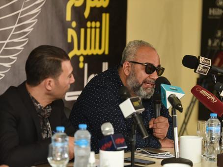 """بيومي فؤاد في مؤتمر صحفي: أول أجر حصلت عليه في المسرح كان من خلال مسرحية """" أوبريت الدرافيل """""""