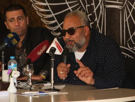 Bayoumi Fouad lors d'une conférence de presse:  * Le premier salaire que j'ai obtenu au théâtre