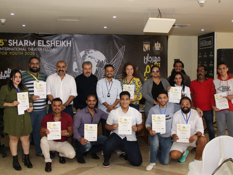 Concluding the Actors' Preparation Workshop and Honoring the Participants in the Presence