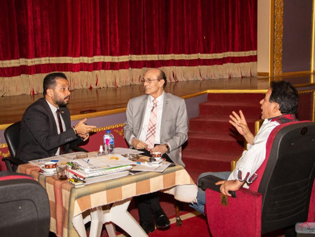 Mohammad Sobhy Chairs SITFY's Higher Committee Meeting