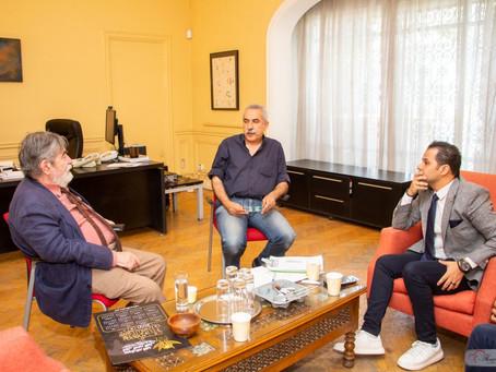 Le directeur de l'Institut Espagnol Cervantes reçoit le président du SITFY