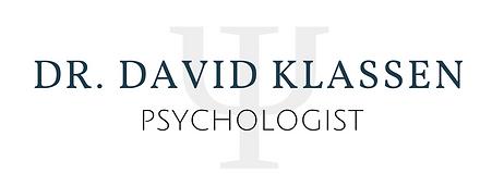 David Klassen psychologist waterloo kitchener