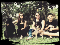 Adriana and her family