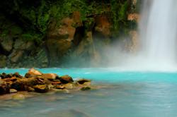 Río Celeste Waterfall
