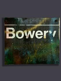 """Bowery #5"" Metal Sculpture"