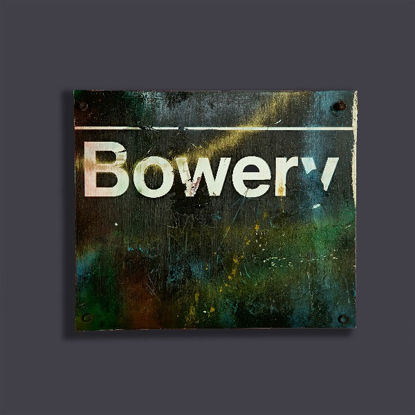 """Bowery #5"" Metal Sculpture"
