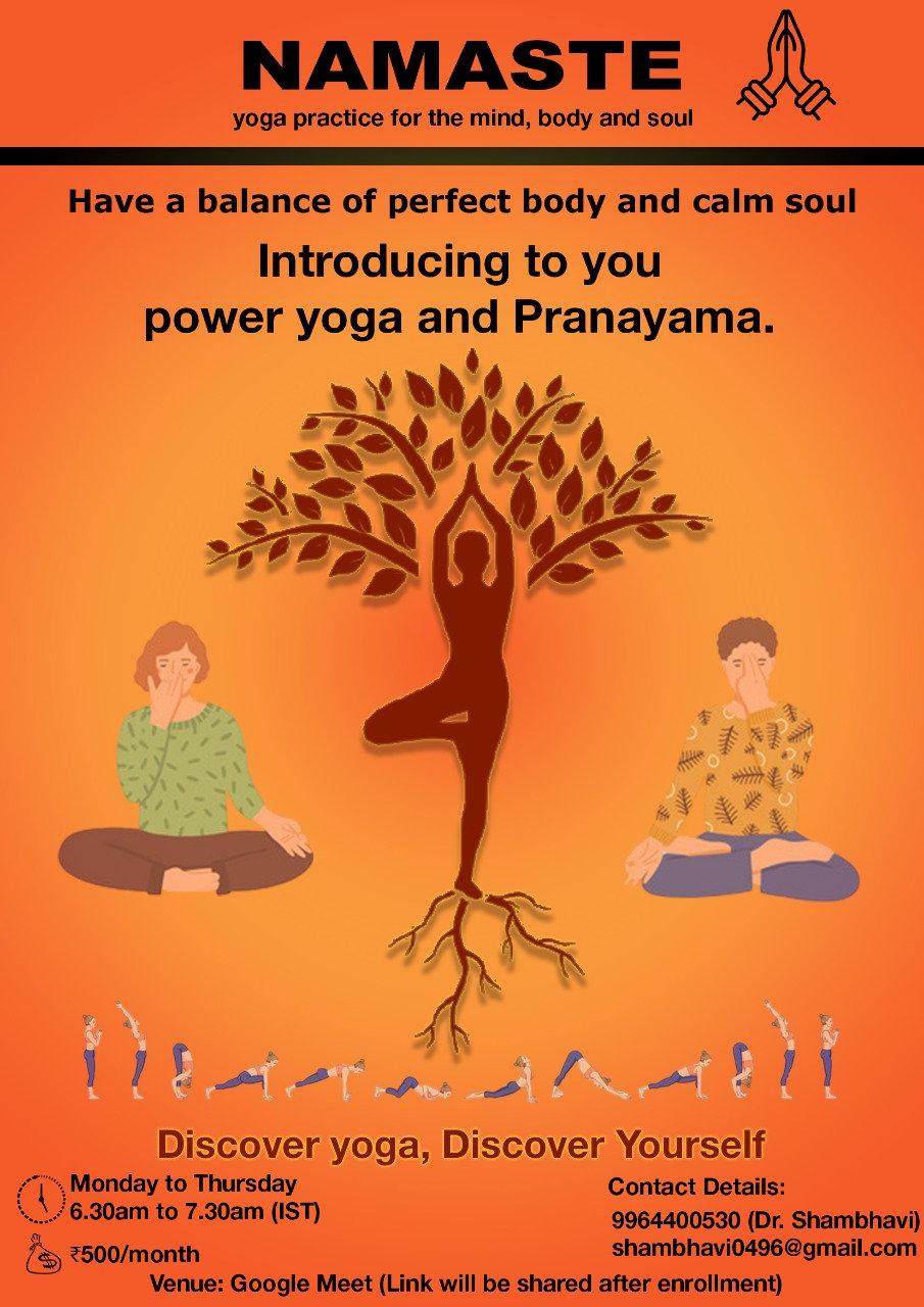 Power Yoga & Pranayama By Dr. Shambhavi