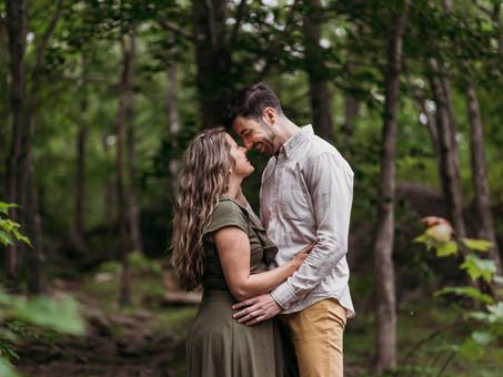 Natalie & James' Long Lake Engagement Session