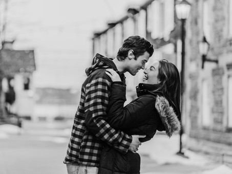 Ryan & Jenny's Downtown Halifax Couple Session