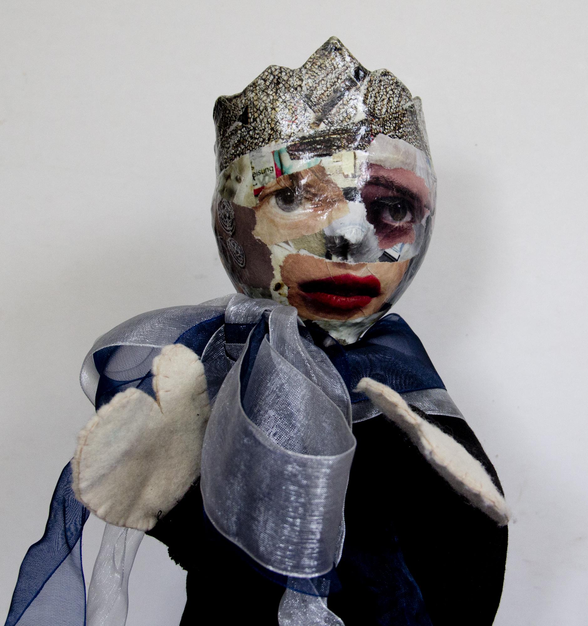 Chambermaid dressed up