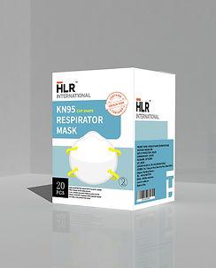 HLR World / HLR International KN95(Cup Shape) Face Mask