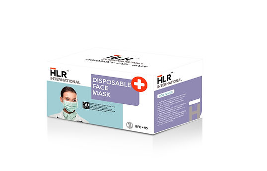 HLR World Disposable Face Mask