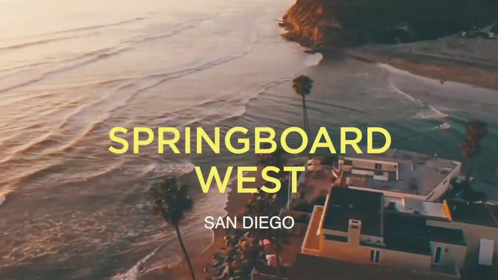 SPRINGBOARD WEST (RECAP VIDEO)