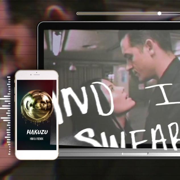 Halsey and G Eazy - Him & I (Hakuzu Remix) Lyric Video - $190