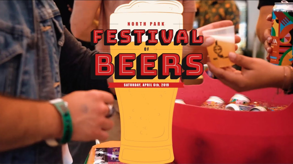 NORTH PARK BEER FESTIVAL (RECAP VIDEO)