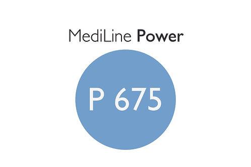6x MediLine Hörgerätebatterien P675