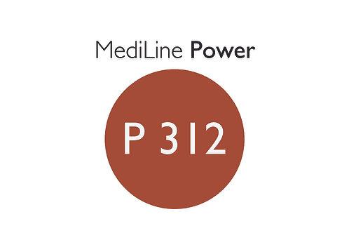 6x MediLine Hörgerätebatterien P312