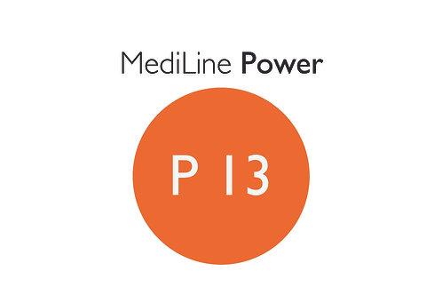 6x MediLine Hörgerätebatterien P13