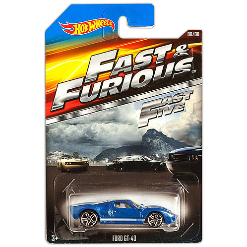 FAST & FURIOUS 5 - Ford GT-40