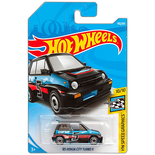 HW SPEED GRAPHICS - '85 Honda City Turbo II