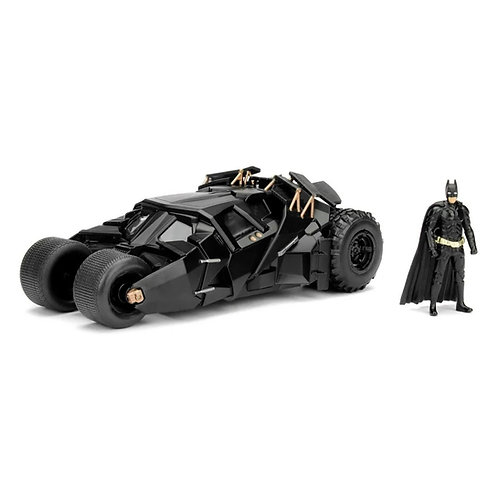 The Dark Knight Batmobile & Batman