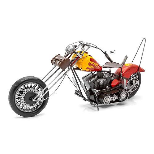 Artesanías de Metal - Motocicleta H-D Chopper