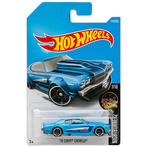 NIGHTBURNERZ - '70 Chevy Chevelle (Azul)