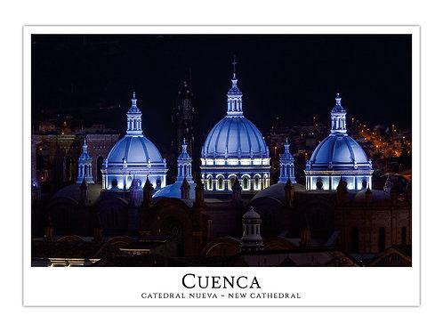 Cuenca - Catedral Nueva de Noche