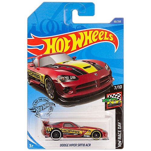 HW RACE DAY - Dodge Viper SRT10 ACR  (rojo)