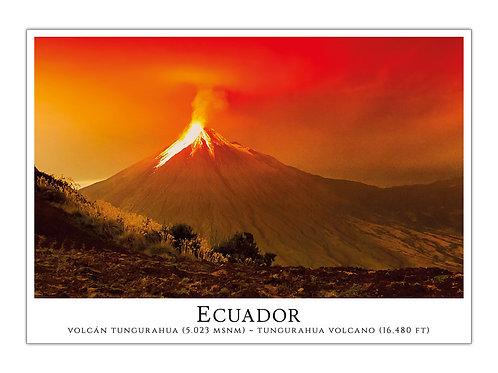 Ecuador - Volcán Tungurahua
