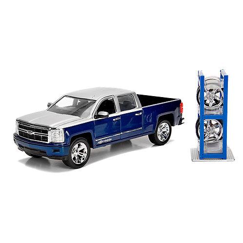 2014 Chevy Silverado w/ Extra Wheels (Chevrolet Trucks 100th Anniversary)