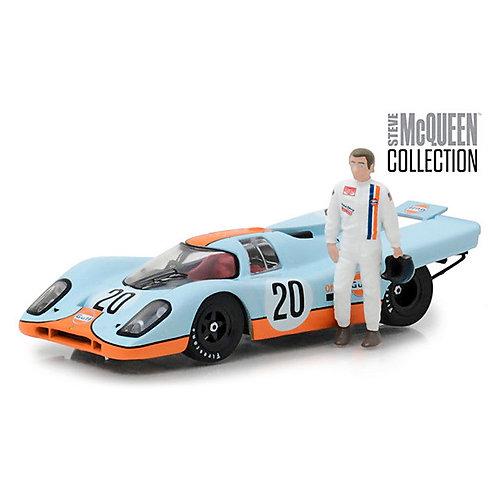 1970 Porsche 917K #20 'Gulf Oil' with Figure