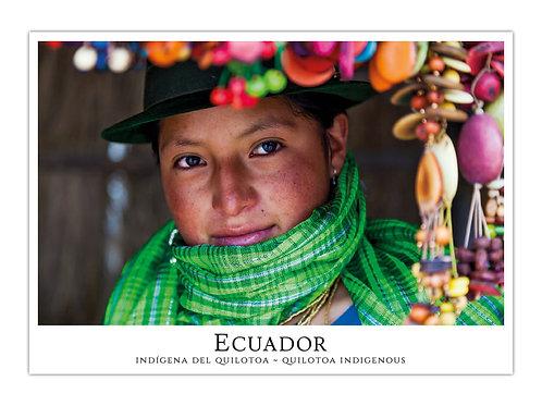 Ecuador - Indígena del Quilotoa