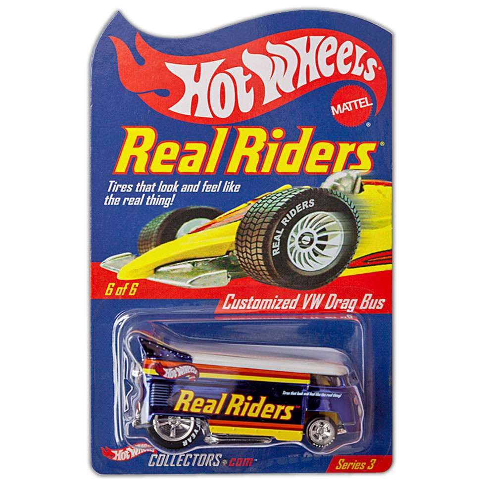 REAL RIDERS Customized VW Drag Bus