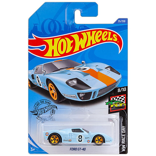 HW RACE DAY - Ford GT-40