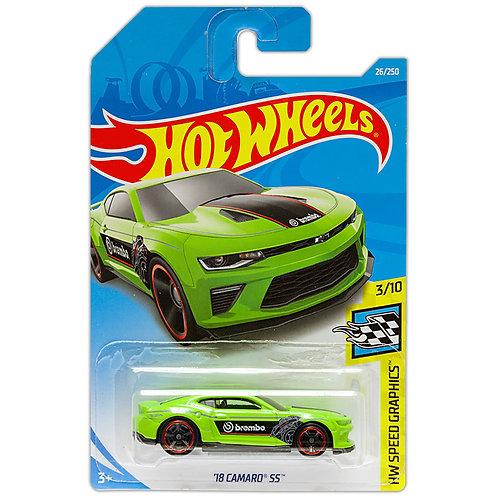 HW SPEED GRAPHICS - '18 Camaro SS (verde)