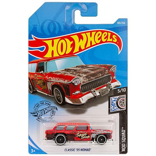 ROD SQUAD - Classic '55 Nomad (rojo)