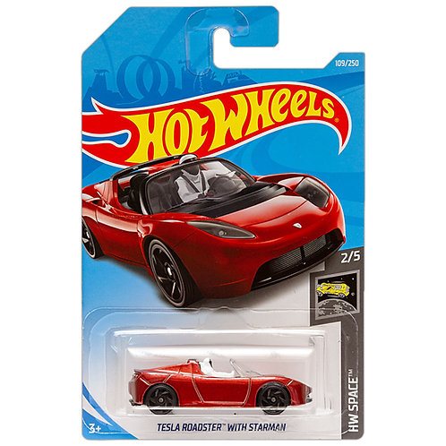 HW SPACE - Tesla Roadster with Starman